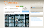 OpenIndie launched & We Live in Public released